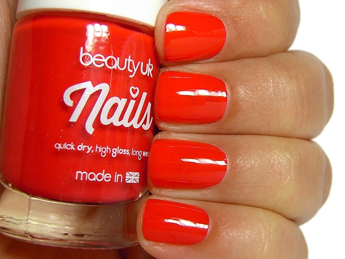 Beauty UK Nails - Coral Burst
