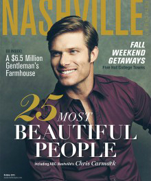 The 2015 October issue of Nashville Lifestyle