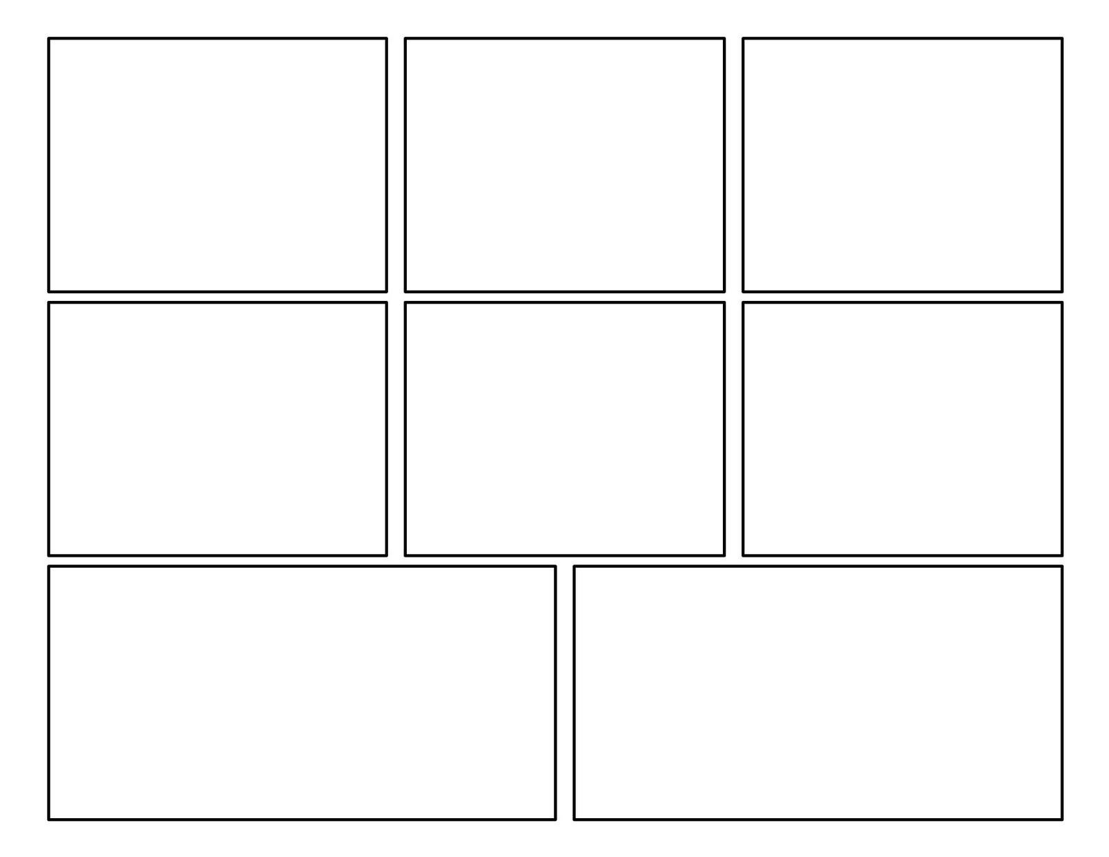 This is a photo of Gutsy Comic Template Printable