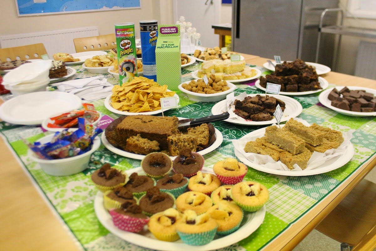 PKL Macmillan Coffee Morning cake