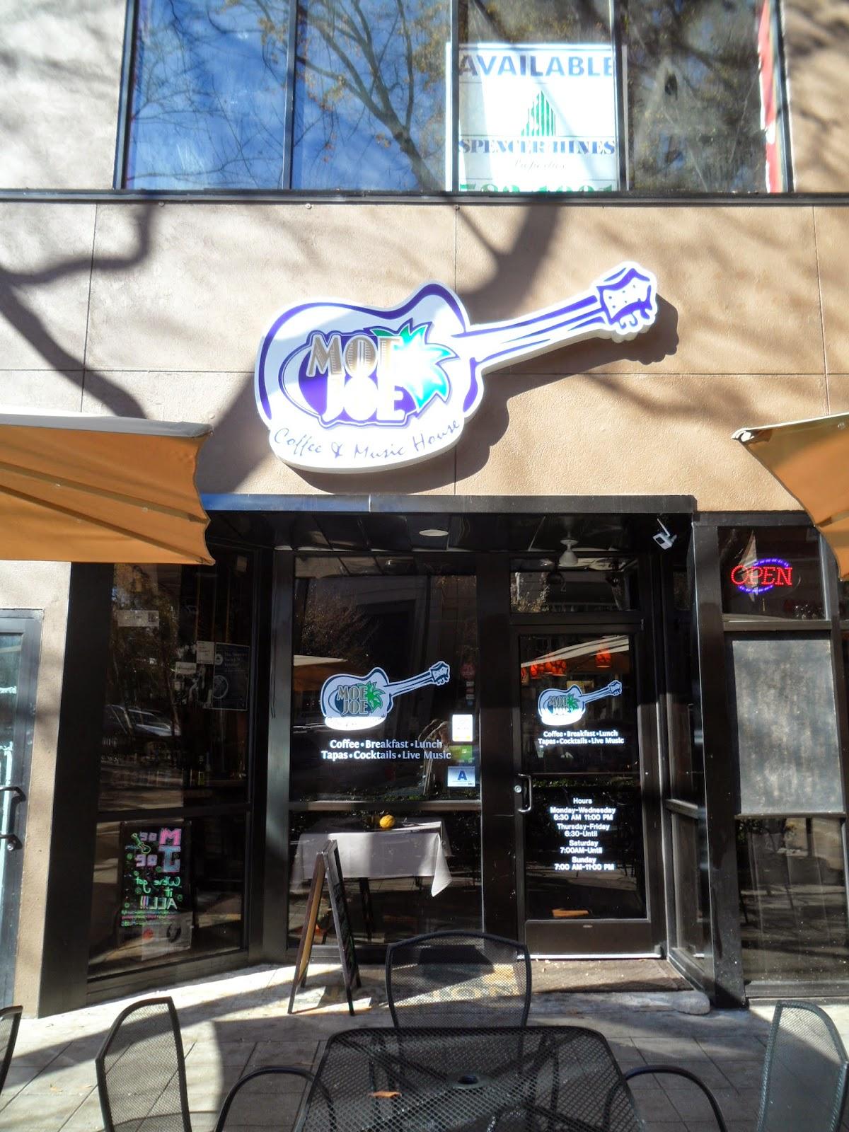 Moe Joe Coffee and Music House Greenville SC