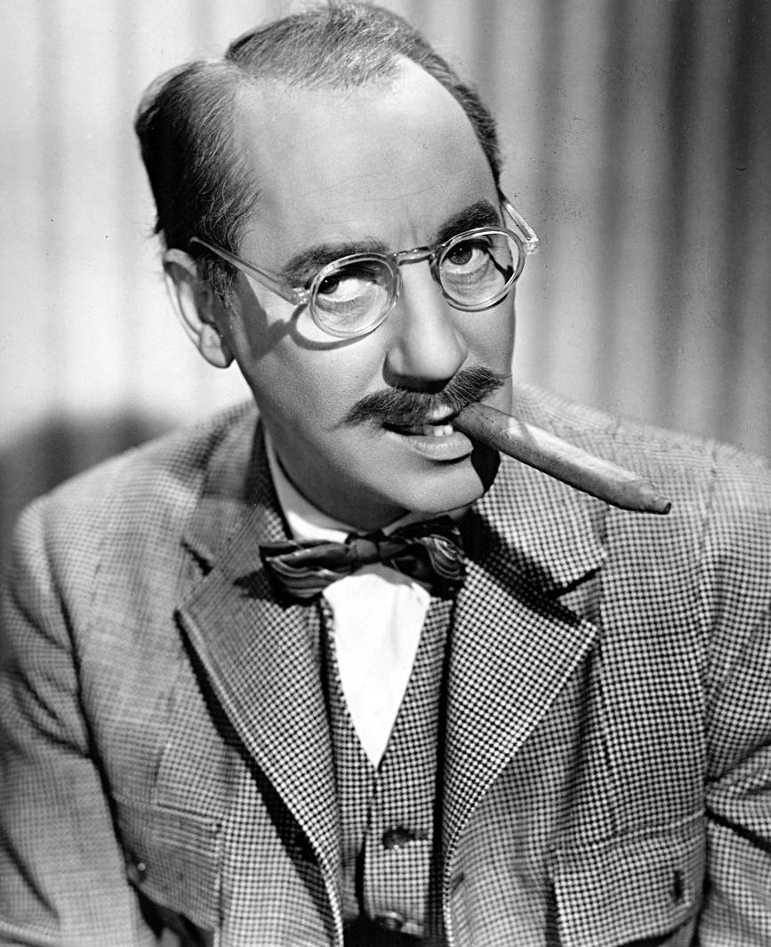 More than a Bushy-Browed, Cigar Smoking Wisecracker - Groucho Marx