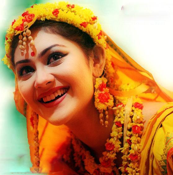 Bangladeshi Celebrity Holud Photos | Wedding Snaps....