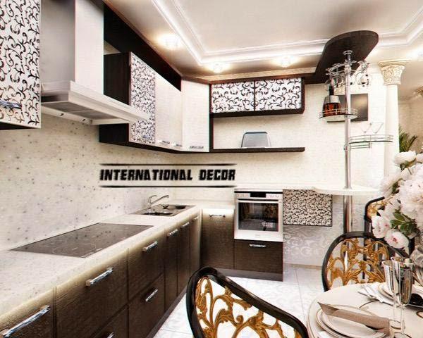 Art Deco kitchen designs and furniture
