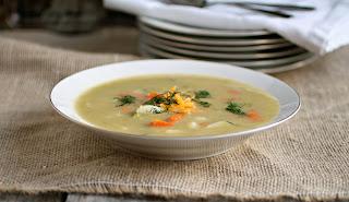 Creamy Veggie Soup