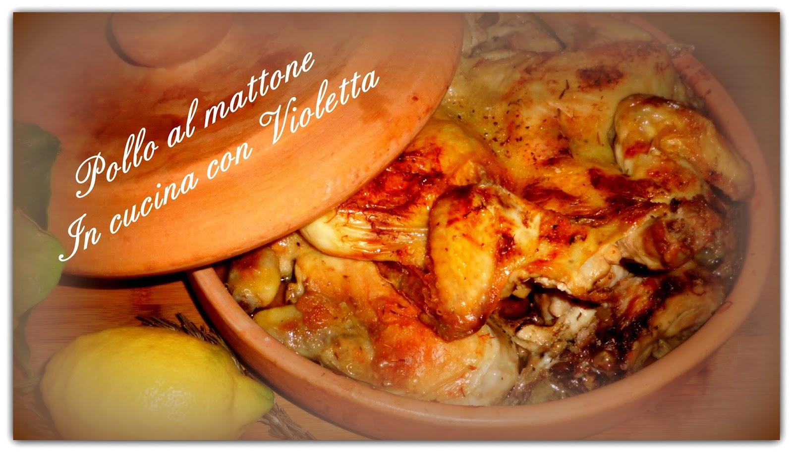 Pollo al Mattone - In cucina con Violetta