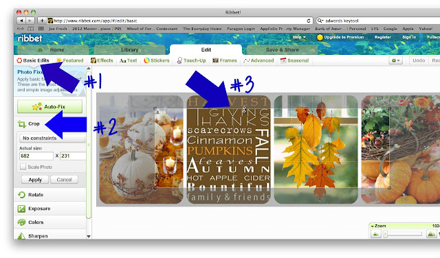 blog, header, tutorial, Ribbet, PicMonkey