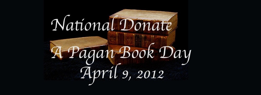 National Donate a Pagan Book Day 2012