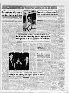 STAMPA SERA 1 SETTEMBRE 1964