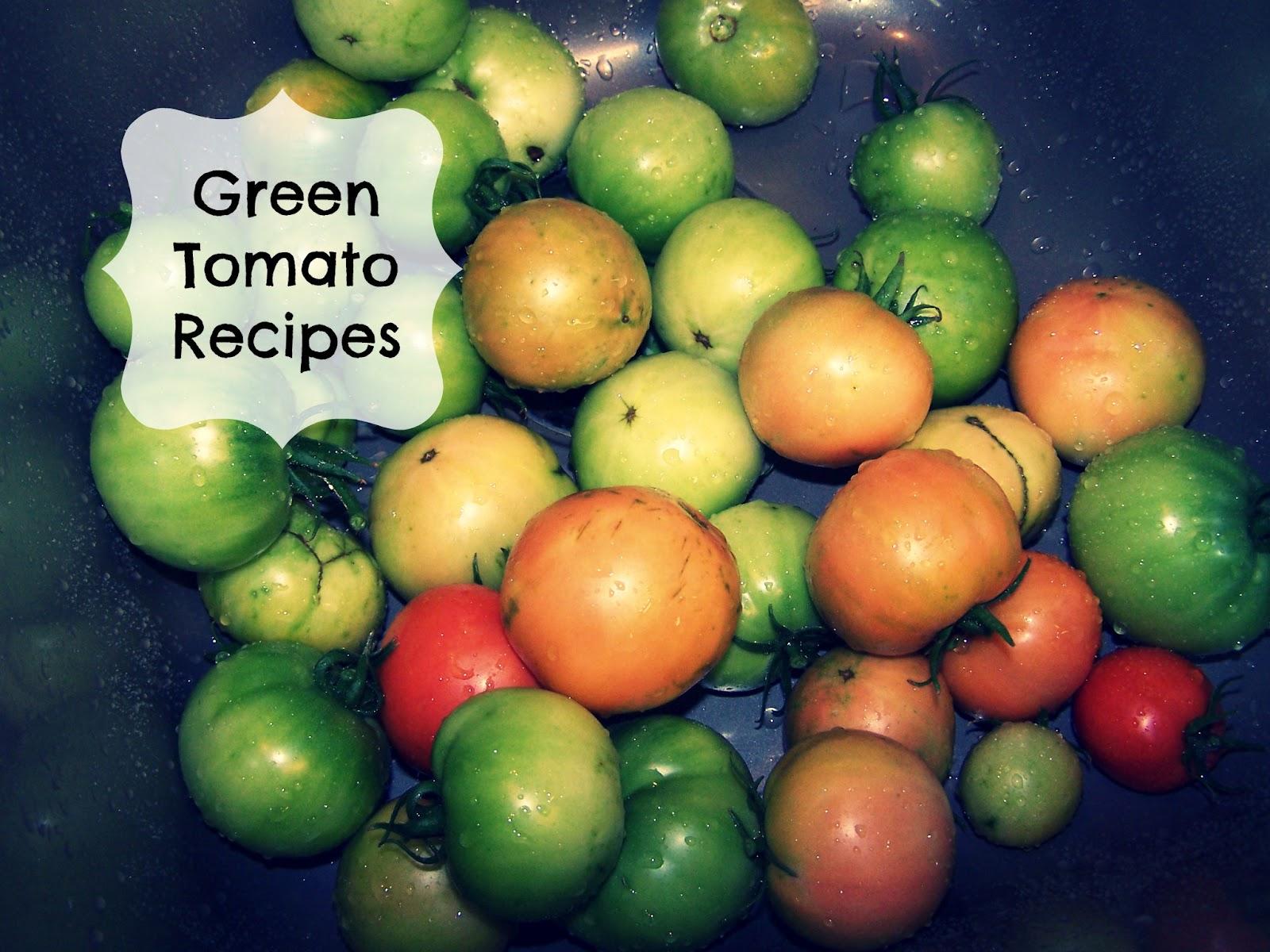 Homesteading Wife: Green Tomato Salsa