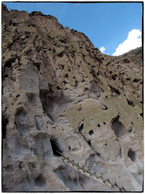 Early Native American tribes dwelled in caves. Taken near Los Alamos,