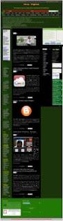 Desa Digital, Dasboard Template, Tampilan terbaru blog desa digital, tampilan template teranyar, model template koservasi, Go Green Template