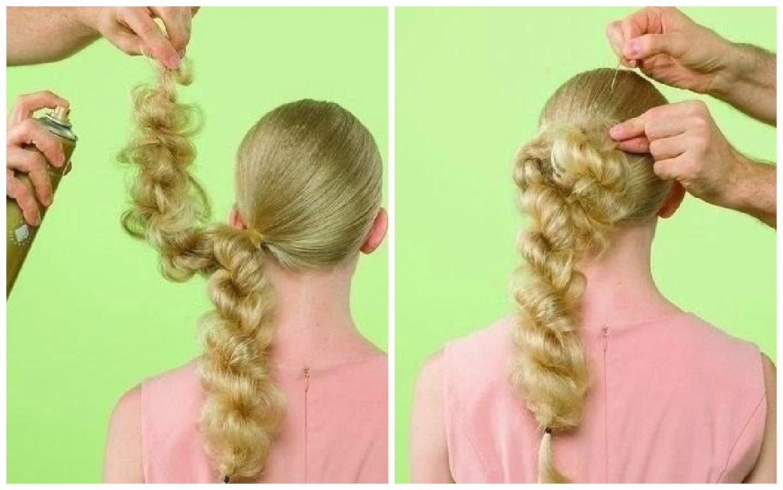 Peinado f cil y elegante paso a paso - Semirecogidos faciles para hacer en casa ...