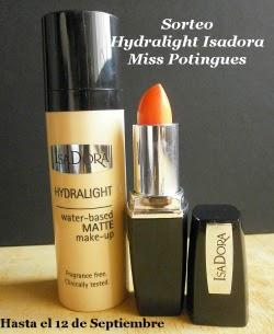 Sorteo Hydralight Isadora Miss Potingues