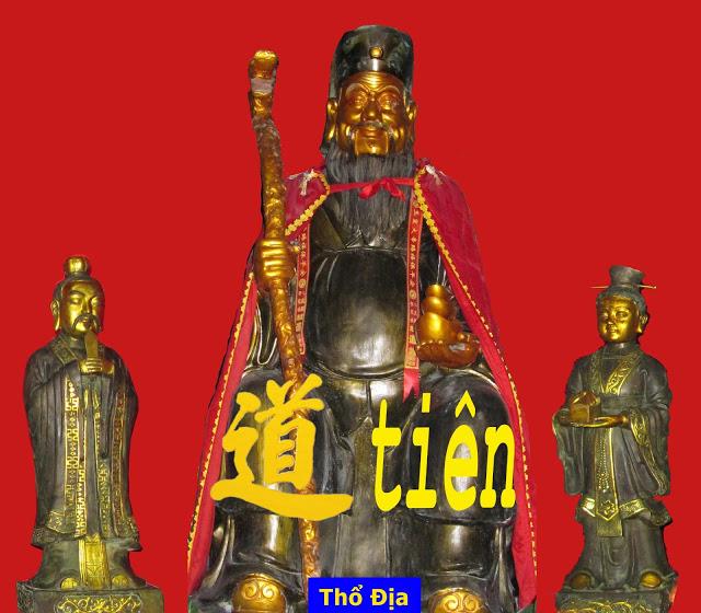 越南道教 thổ địa, tho dia Taoist