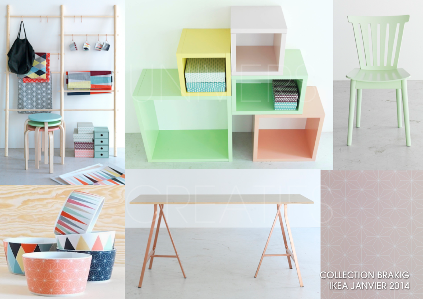 Univers creatifs ikea nouvelle collection capsule bravik - Nouvelle collection ikea ...