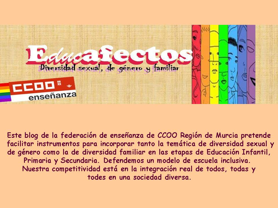 Educafectos: Diversidad afectivo-sexual, de género y familiar