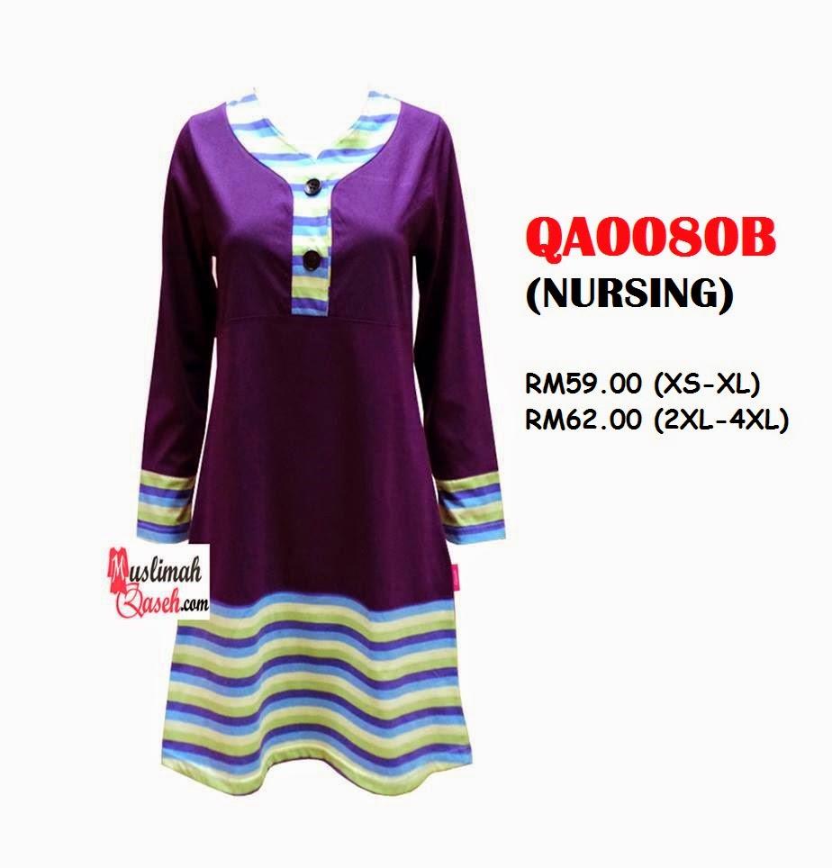 T-Shirt-Muslimah-Qaseh-QA0080B