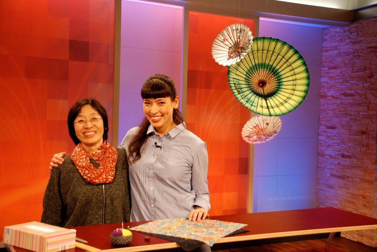 Noriko handmade beim ARD-Buffet in Baden-Baden