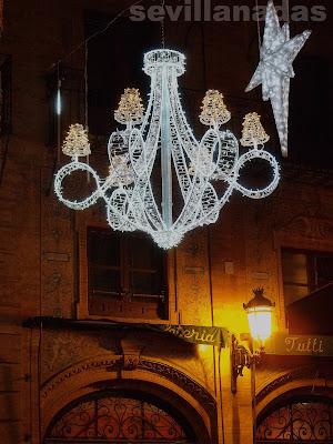 calle Sierpes Navidad 2012 Sevilla
