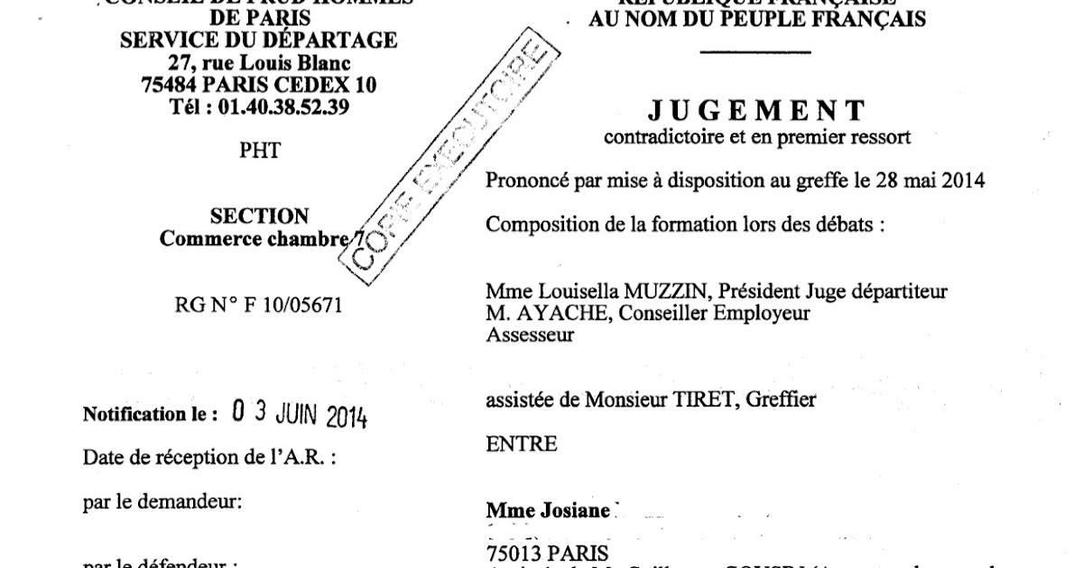 le de ma 238 tre guillaume cousin revue des d 233 cisions 2014 du cabinet licenciement pour
