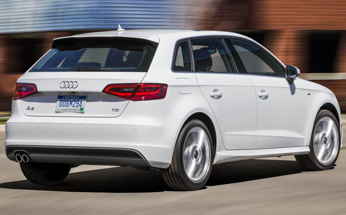 2015 Audi A3 Sportback USA Spec