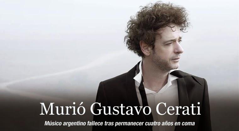 Gustavo Cerati muere tras cuatro años en coma