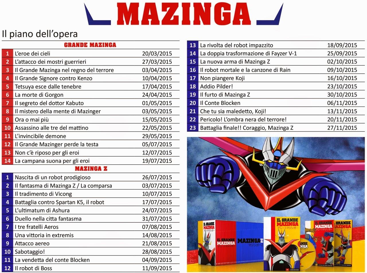 piano-opera-mazinga-mazinga z- dvd