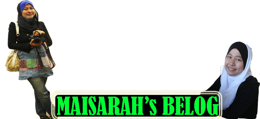 MAISARAH's BELOG