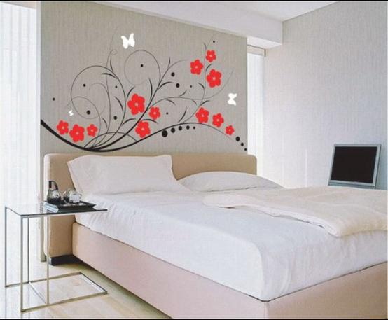 Varios dise os de murales o pegatinas para las paredes for Disenos de paredes para dormitorios