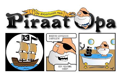 new Piraat Opa cartoon