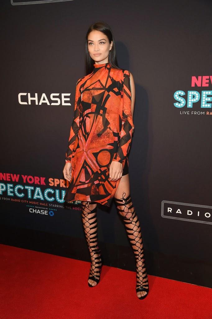 Fashion Model @ Shanina Shaik - New York Spring Spectacular at Radio City Music Hall
