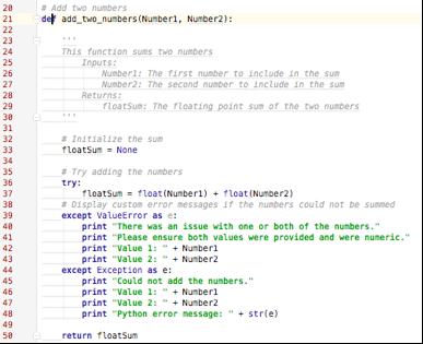 Python homework assignments