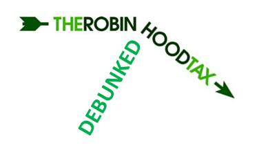 Robin Hood Tax Debunked