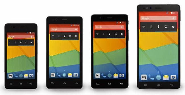 bq Aquaris E nueva gama de smartphones - bq Aquaris