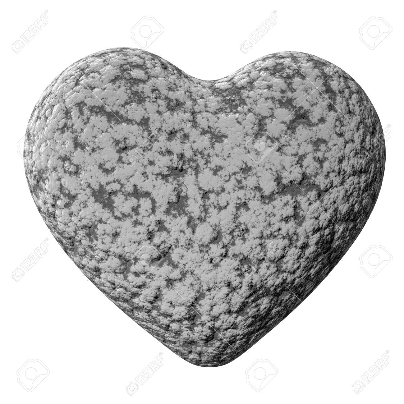 imagen corazón de piedra