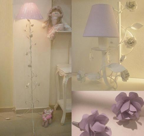 quarto menina lilás