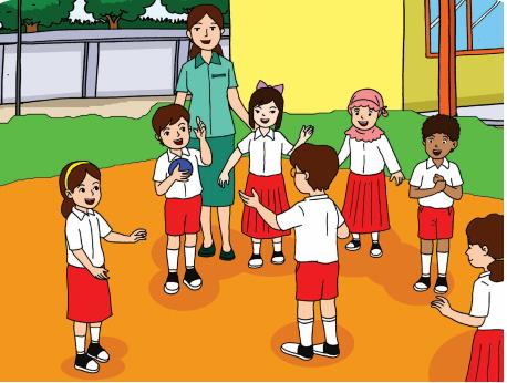 Gambar Ilustrasi Dan Cara Membuatnya Selamat Datang Di Kelas Bu Asih