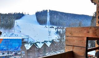 Вид из отель Круча