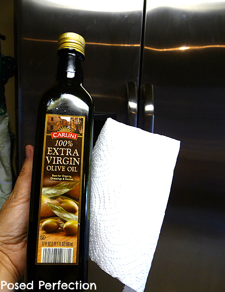 EVOO As A Stainless Cleaner