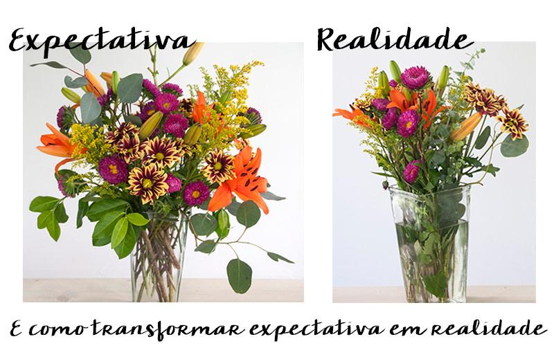 Como montar um vaso de flores perfeito, dicas e truques.