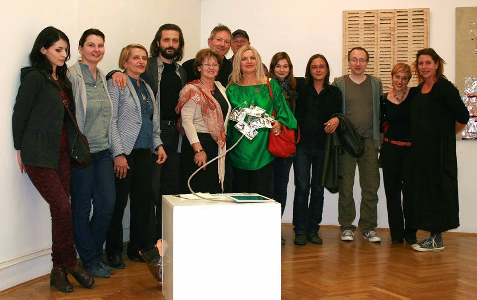 Opening of the exhibition at the Art Gallery of Bosnia Herzegovina
