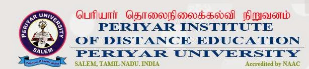 Periyar University 2014 Results Arts, Science