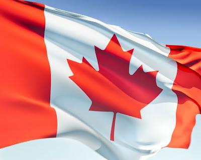 Gambar bendera negara kanada