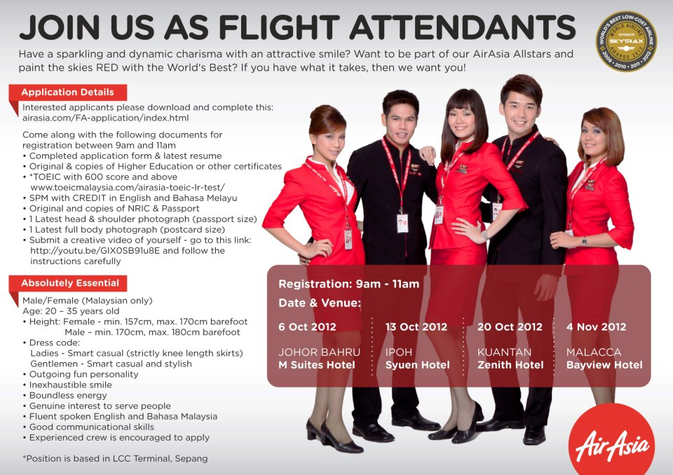 Cabin Crew Interview 2012 Air Asia Oct 2012 Cabin Crew