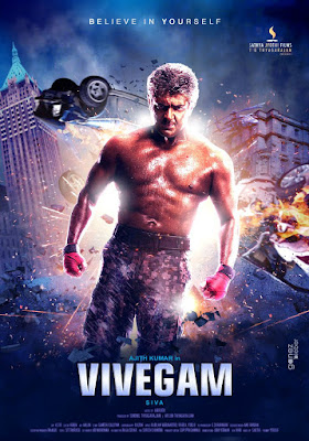 Poster Of Free Download Vivegam 2017 300MB Full Movie Hindi Dubbed 720P Bluray HD HEVC Small Size Pc Movie Only At pueblosabandonados.com