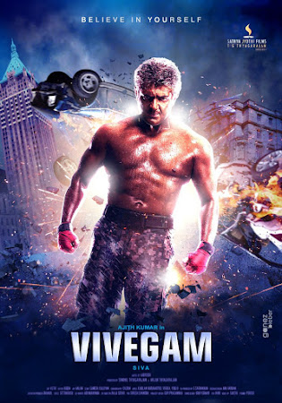 Poster Of Vivegam 2017 Full Movie In Hindi Dubbed Download HD 100MB Tamil Movie For Mobiles 3gp Mp4 HEVC Watch Online