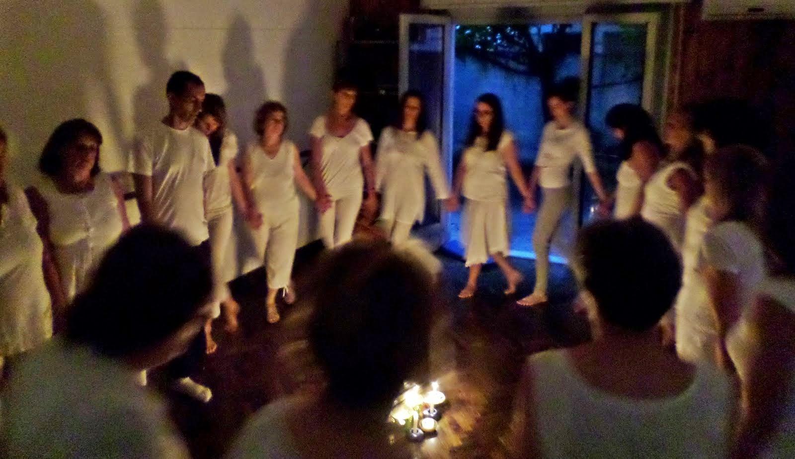 Noche Blanca en Cuerpomundo, dic. 2014