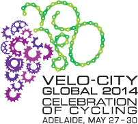 Velo-city Global 2014 will be held in Adelaide in May