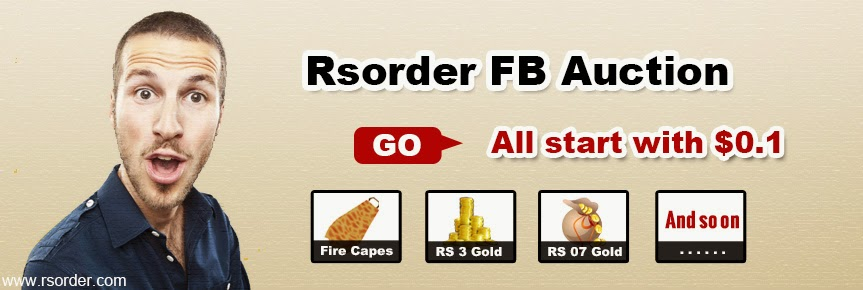 All RS products from RSorder Auction start with $0.1